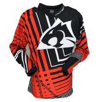 2017 Mens Motocross Jerseys Red Black