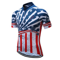 USA National Flag Pro Team Cycling Jerseys