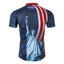 NASA Statue Of Liberty Pro Cycling Jerseys