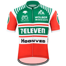 Retro 7-Eleven Descente Cycling Jersey