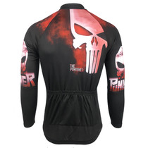 8d5b3c9e0 Punisher Mens Long Sleeve Cycling Jersey Punisher Mens Long Sleeve Cycling  Jersey