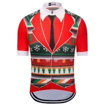 Formal Christmas Vest And Tie Cycling Jersey