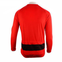 Santa Christmas Long Sleeve Cycling Jersey