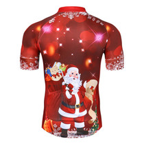 Santa Christmas Tree Red Cycling Jersey Santa Christmas Tree Red Cycling  Jersey 56f0e6392
