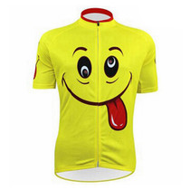 Spit tongue Emoji  Cycling Jersey