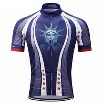 Shocked Statue Of Liberty USA Cycling Jersey