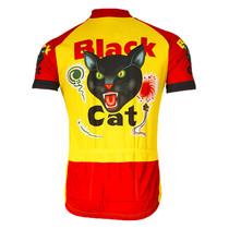 Men's Black Cat Cycling Jersey