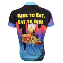 Ride To Eat Short Sleeve Cycling Jersey