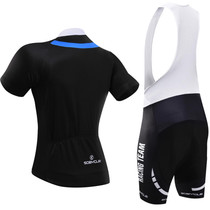 Men's Tuxedo Cycling Kit Blue Black