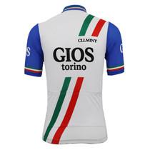 Italy Gios Torino Retro Cycling Jersey