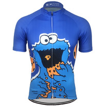 300afb81e Cookie Power Cookie Monster Cycling Jersey Cookie Power Cookie Monster  Cycling Jersey