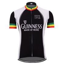 Ireland Guinness Beer Cycling Jersey Yellow Red Green