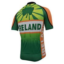 Ireland Men's Cycling Jersey Green