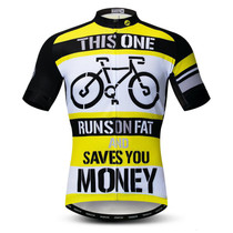 Run Fat Save Money Cycling Jersey