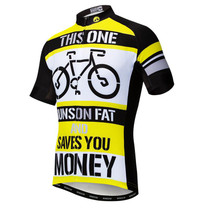 Run Fat Save Money Men's Cycling Jersey