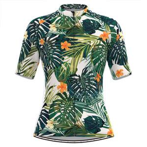 Women's Floral Aloha Hawaiian Cycling Jersey