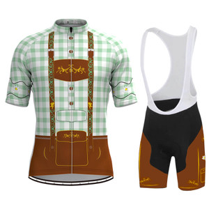 Men's Tirolese Cycling Kit Green