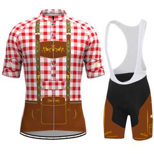 Men's Tirolese Cycling Kit Red