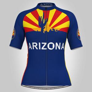 Arizona State Flag Adventure Women's Cycling Jersey