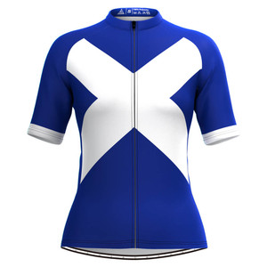 Scotland Flag Women's Cycling Jersey
