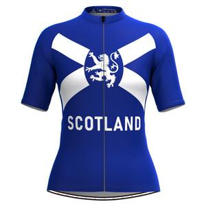 Women's Scotland Flag Cycling Jersey