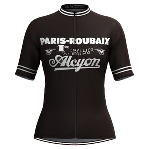 Retro Paris Roubaix Women's Cycling Jersey