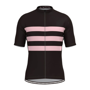 Men's Classic Stripe Jersey - Black/Pink