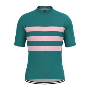Men's Classic Stripe Jersey - Green/Pink