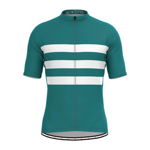 Men's Classic Stripe Jersey - Green/White