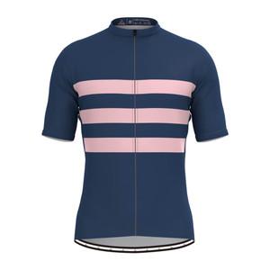 Men's Classic Stripe Jersey - Navy/Pink