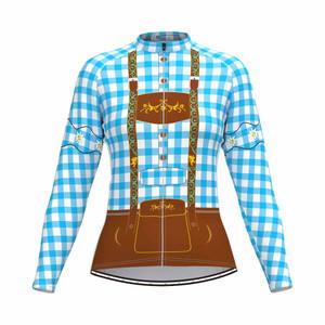 Tirolese Women's Long Sleeve Cycling jersey Blue