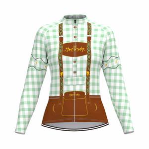 Tirolese Women's Long Sleeve Cycling jersey Green