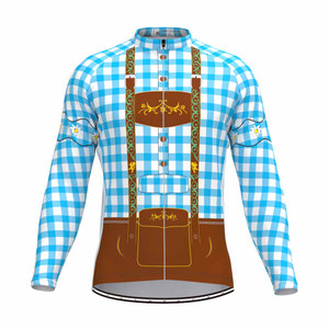 Tirolese Men's Long Sleeve Cycling jersey Blue