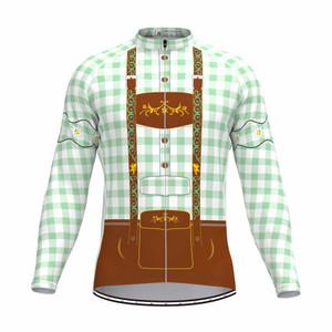 Tirolese Men's Long Sleeve Cycling jersey Green