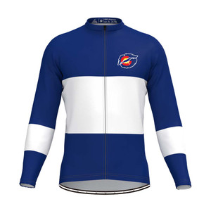 Kiss Colorado State Flag Men's LS Cycling Jersey