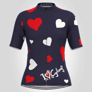 Love & Hearts Women's Cycling Jersey