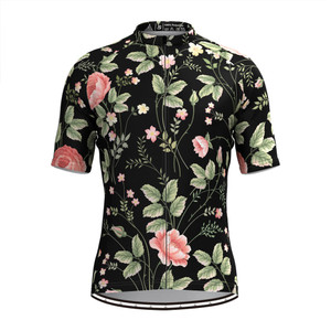 Men's Aloha Floral Print Hawaiian Cycling Jersey