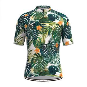 Men's Floral Aloha Hawaiian Cycling Jersey