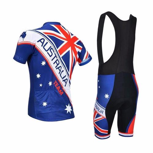 Australia Natinal Flag Team Mens Cycling Kits e4cc063a0
