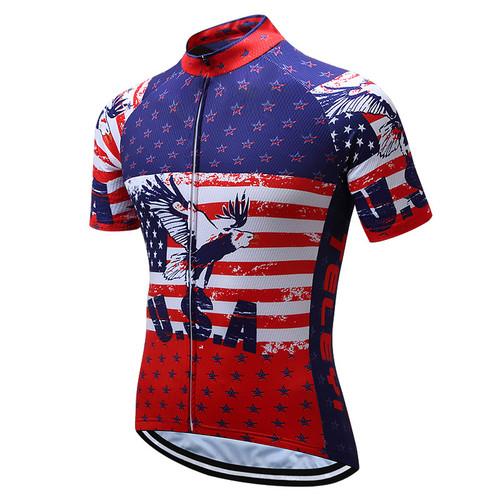 American Eagle Star Stripe Flag Cycling Jerseys