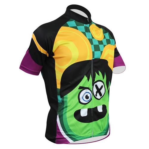 2018 New Cartoon funny Men's cycling jersey