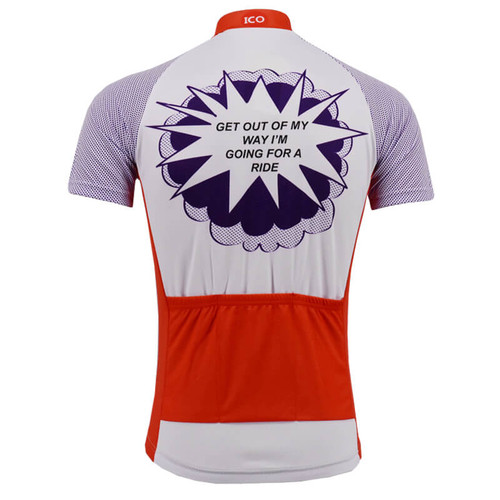 La vie Claire Look Im Going for A Ride Cycling Jersey ... 8856c7015