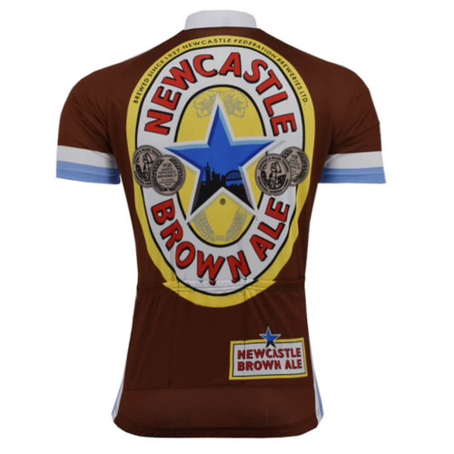 Newcastle Brown Ale Beer Road Cycling Jersey  7f9e6daab