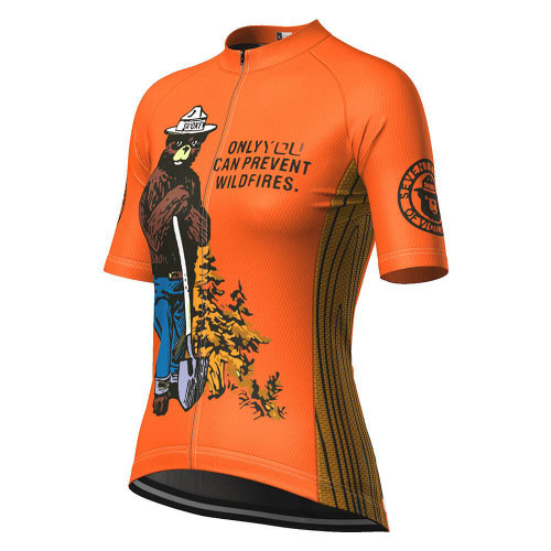 Women's Smokey Bear Wildfires Cycling Jersey