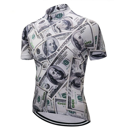 Dollars Short Sleeve Men's Cycling Jersey