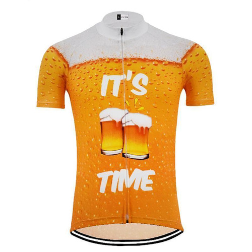 It's Beer Time Novelty Men's Cycling Jersey