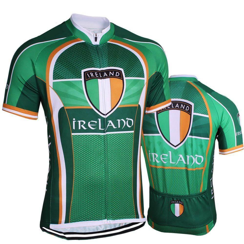 caaed5c82 Ireland Flag Pro Cycling Jersey