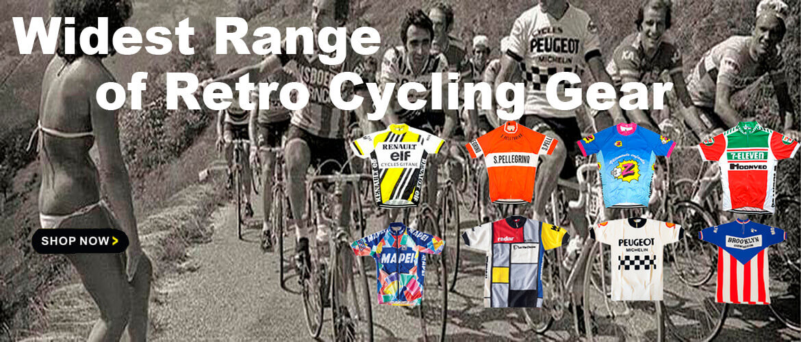 Widest Range of Retro Cycling Gear