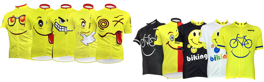 Emoji Series Cycling Jersey