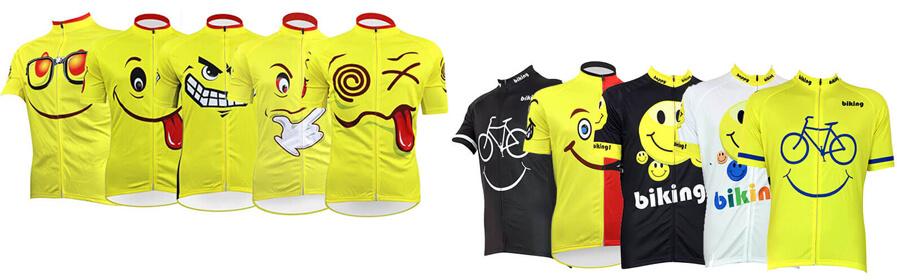 Emoji Series Cycling Jersey